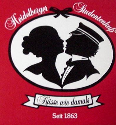 The Story of the Heidelberg Student´s Kiss