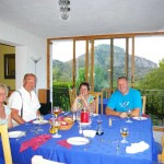 Dinner at Gandia Casa Rural IMGP4729