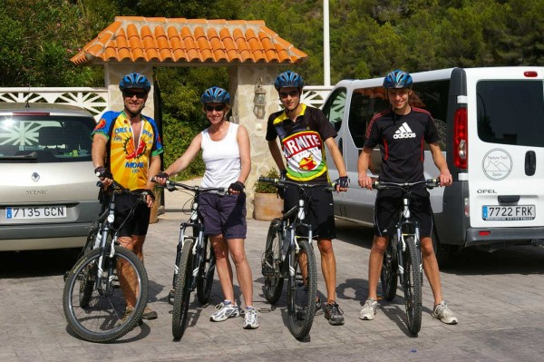 Cycling for families in Spain